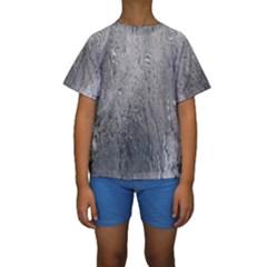 Water Drops Kids  Short Sleeve Swimwear