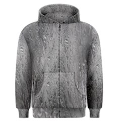 Water Drops Men s Zipper Hoodie