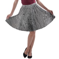 Water Drops A Line Skater Skirt