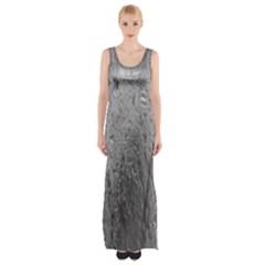 Water Drops Maxi Thigh Split Dress