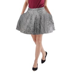 Water Drops A-Line Pocket Skirt