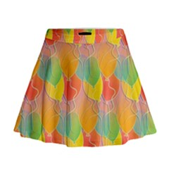 Birthday Balloons Mini Flare Skirt
