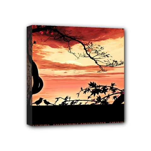 Autumn Song Autumn Spreading Its Wings All Around Mini Canvas 4  x 4