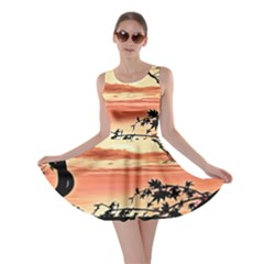 Autumn Song Autumn Spreading Its Wings All Around Skater Dress