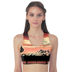 Autumn Song Autumn Spreading Its Wings All Around Sports Bra