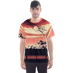 Autumn Song Autumn Spreading Its Wings All Around Men s Sport Mesh Tee