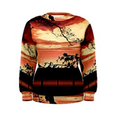 Autumn Song Autumn Spreading Its Wings All Around Women s Sweatshirt