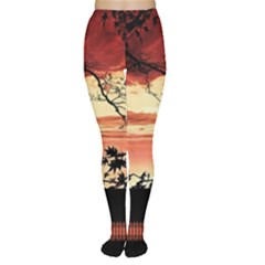 Autumn Song Autumn Spreading Its Wings All Around Women s Tights