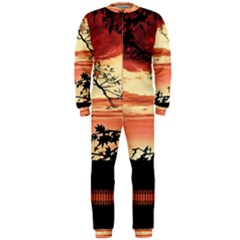 Autumn Song Autumn Spreading Its Wings All Around Onepiece Jumpsuit (men)