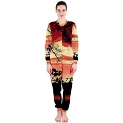 Autumn Song Autumn Spreading Its Wings All Around OnePiece Jumpsuit (Ladies)