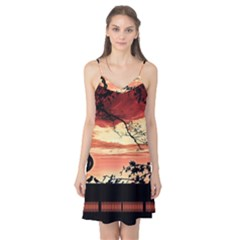 Autumn Song Autumn Spreading Its Wings All Around Camis Nightgown