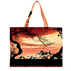 Autumn Song Autumn Spreading Its Wings All Around Large Tote Bag