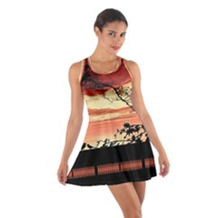 Autumn Song Autumn Spreading Its Wings All Around Cotton Racerback Dress
