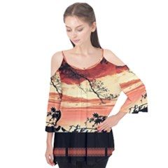 Autumn Song Autumn Spreading Its Wings All Around Flutter Tees