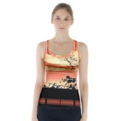 Autumn Song Autumn Spreading Its Wings All Around Racer Back Sports Top