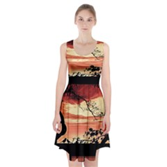 Autumn Song Autumn Spreading Its Wings All Around Racerback Midi Dress