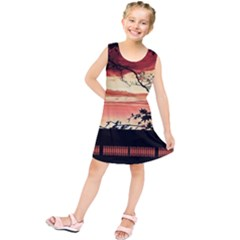 Autumn Song Autumn Spreading Its Wings All Around Kids  Tunic Dress