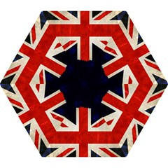 Flag Of Britain Grunge Union Jack Flag Background Mini Folding Umbrellas