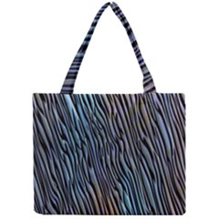 Abstract Background Wallpaper Mini Tote Bag