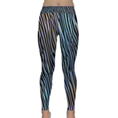 Abstract Background Wallpaper Classic Yoga Leggings