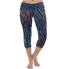 Abstract Background Wallpaper Capri Yoga Leggings