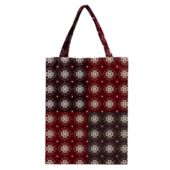 Decorative Pattern With Flowers Digital Computer Graphic Classic Tote Bag