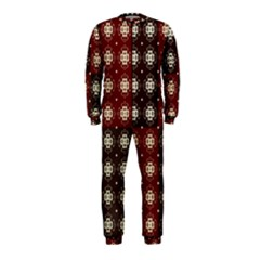Decorative Pattern With Flowers Digital Computer Graphic Onepiece Jumpsuit (kids)