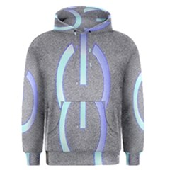 Close Up Of A Power Button Men s Pullover Hoodie