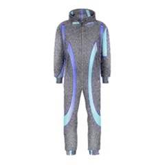 Close Up Of A Power Button Hooded Jumpsuit (Kids)