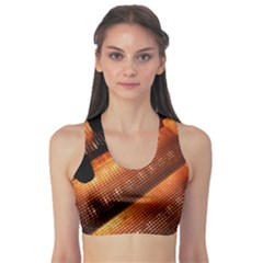 Magic Steps Stair With Light In The Dark Sports Bra