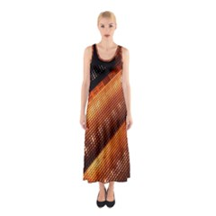 Magic Steps Stair With Light In The Dark Sleeveless Maxi Dress