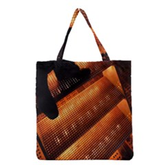 Magic Steps Stair With Light In The Dark Grocery Tote Bag