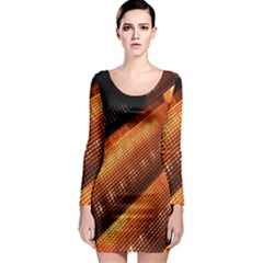 Magic Steps Stair With Light In The Dark Long Sleeve Bodycon Dress