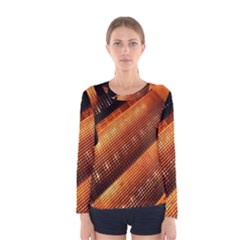 Magic Steps Stair With Light In The Dark Women s Long Sleeve Tee