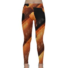 Magic Steps Stair With Light In The Dark Classic Yoga Leggings