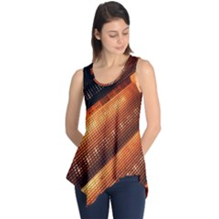 Magic Steps Stair With Light In The Dark Sleeveless Tunic