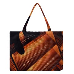 Magic Steps Stair With Light In The Dark Medium Tote Bag