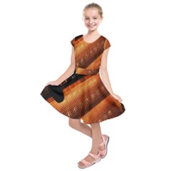 Magic Steps Stair With Light In The Dark Kids  Short Sleeve Dress