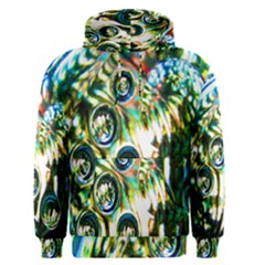 Dark Abstract Bubbles Men s Pullover Hoodie