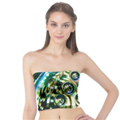 Dark Abstract Bubbles Tube Top