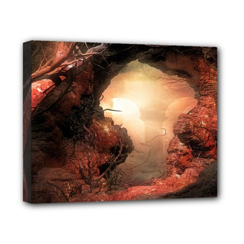 3d Illustration Of A Mysterious Place Canvas 10  x 8