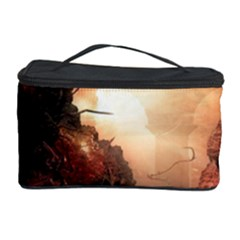 3d Illustration Of A Mysterious Place Cosmetic Storage Case
