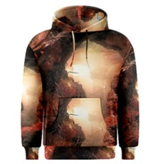 3d Illustration Of A Mysterious Place Men s Pullover Hoodie