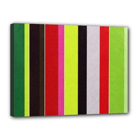 Stripe Background Canvas 16  X 12