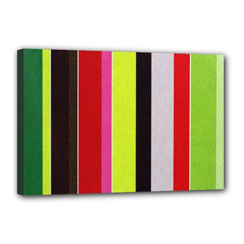 Stripe Background Canvas 18  x 12