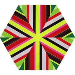 Stripe Background Mini Folding Umbrellas