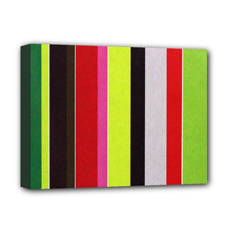Stripe Background Deluxe Canvas 16  x 12