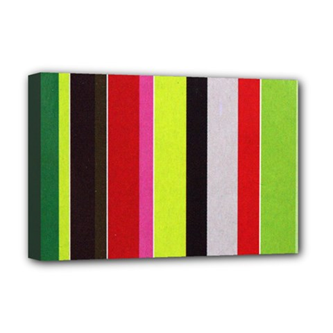 Stripe Background Deluxe Canvas 18  x 12