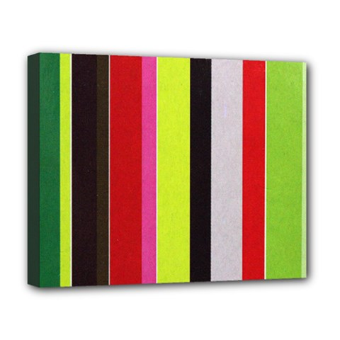 Stripe Background Deluxe Canvas 20  x 16