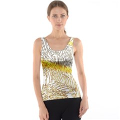 Abstract Composition Digital Processing Tank Top